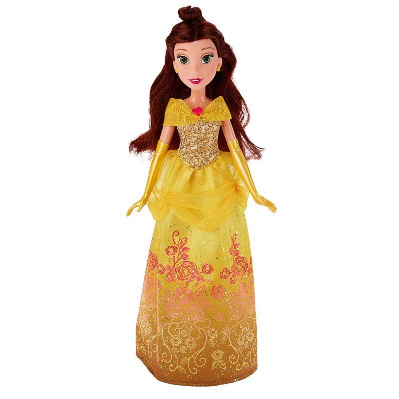 Disney Princess Royal Shimmer Belle Doll, Multicolor