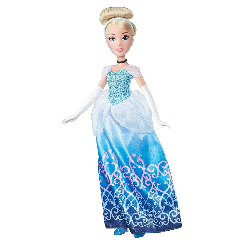Disney Princess Royal Shimmer Cinderella Doll, Multicolor