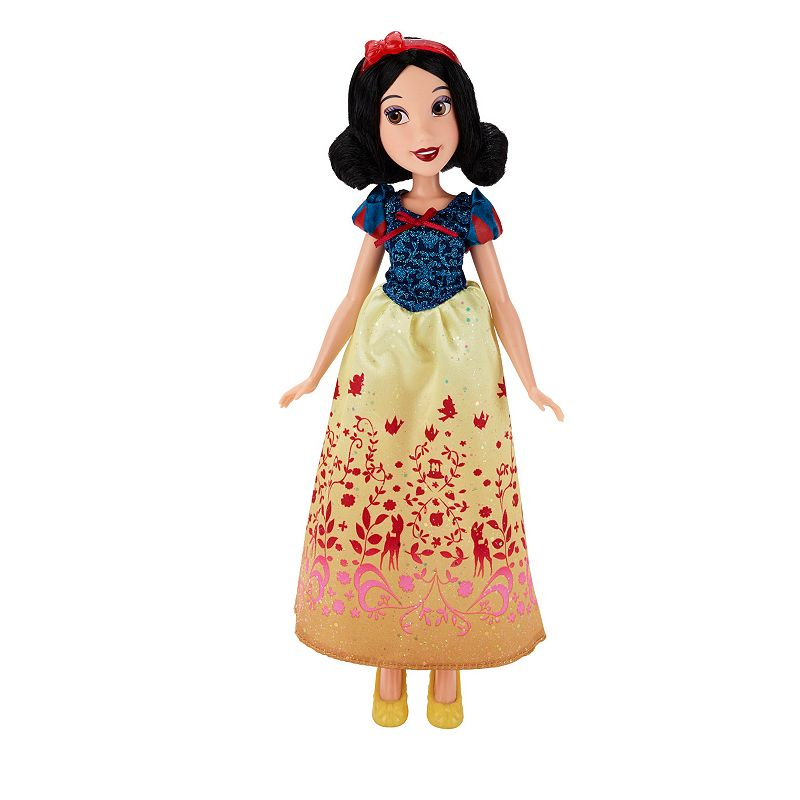 Disney Princess Royal Shimmer Snow White Doll, Multicolor
