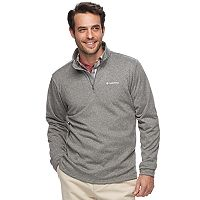 Big & Tall Columbia Dunsire Point Classic-Fit Colorblock Fleece Quarter-Zip Pullover