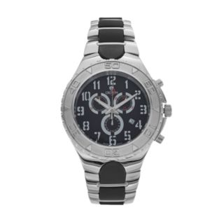 Croton Men's Super C Stainless Steel Swiss Chronograph Watch