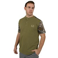 Men's Realtree Camo Henley