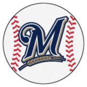 FANMATS Milwaukee Brewers Baseball Rug