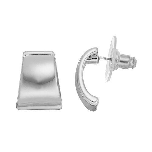 Dana Buchman Semi-Hoop Earrings