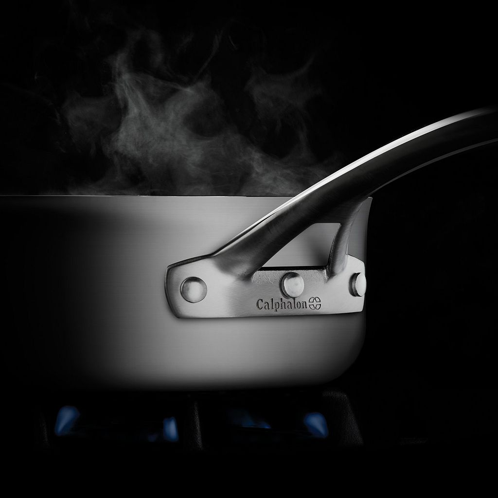 Calphalon Signature 2.5-qt. Stainless Steel Saucepan