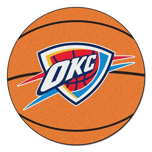 FANMATS Oklahoma City Thunder Basketball Rug