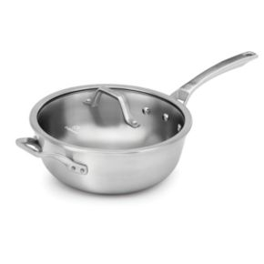 Calphalon Signature 4-qt. Stainless Steel Chef's Pan