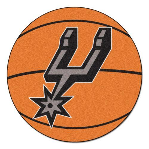 FANMATS San Antonio Spurs Basketball Rug