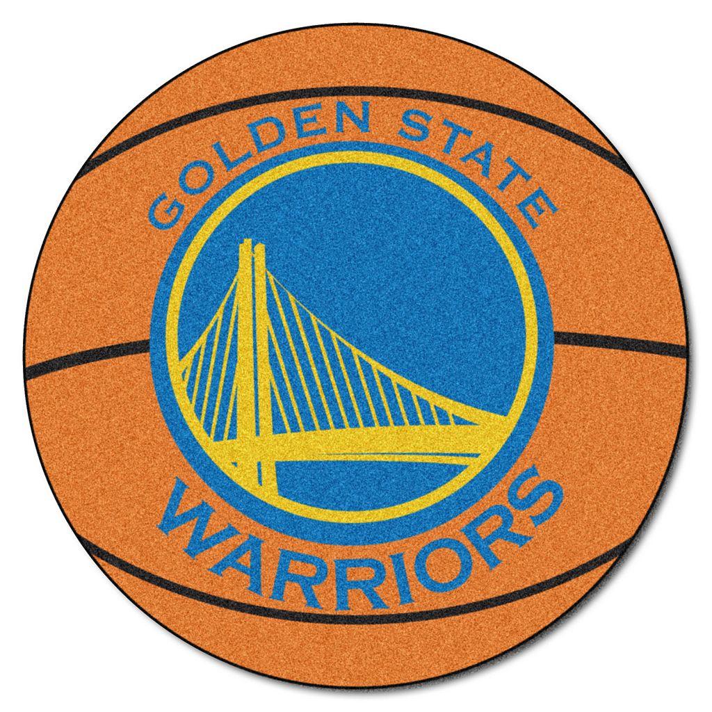 FANMATS Golden State Warriors Basketball Rug