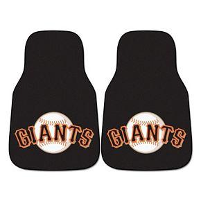 FANMATS San Francisco Giants 2-Pack Carpeted Car Mats