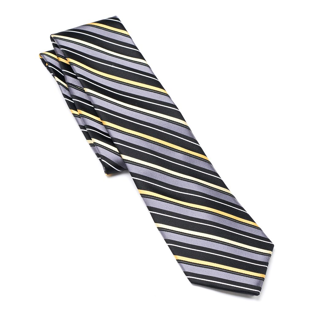 Men's Arrow Skinny-Striped Tie
