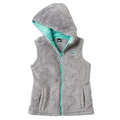 Girls 7-16 FILA SPORT® Faux-Fur Hooded Vest
