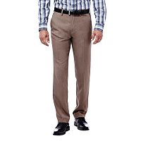 Big & Tall Haggar® Slim-Fit Performance Microfiber Flat-Front Slacks