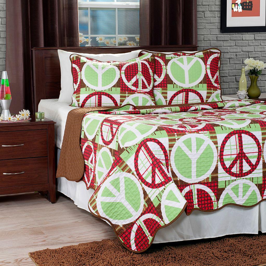 Portsmouth Home Peace Quilt Set