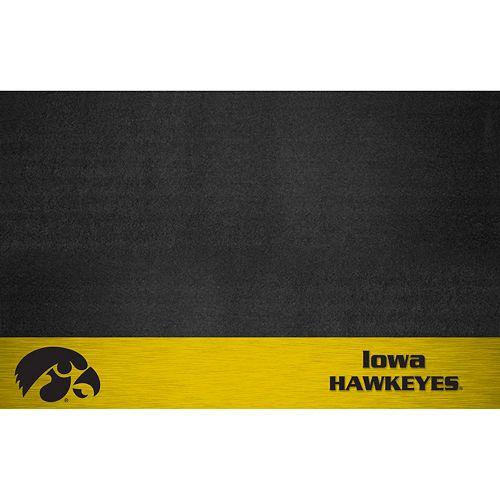 FANMATS Iowa Hawkeyes Grill Mat
