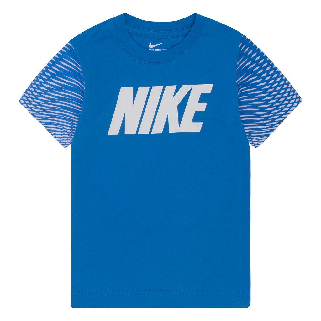 Boys 4-7 Nike Geometric Jersey Tee