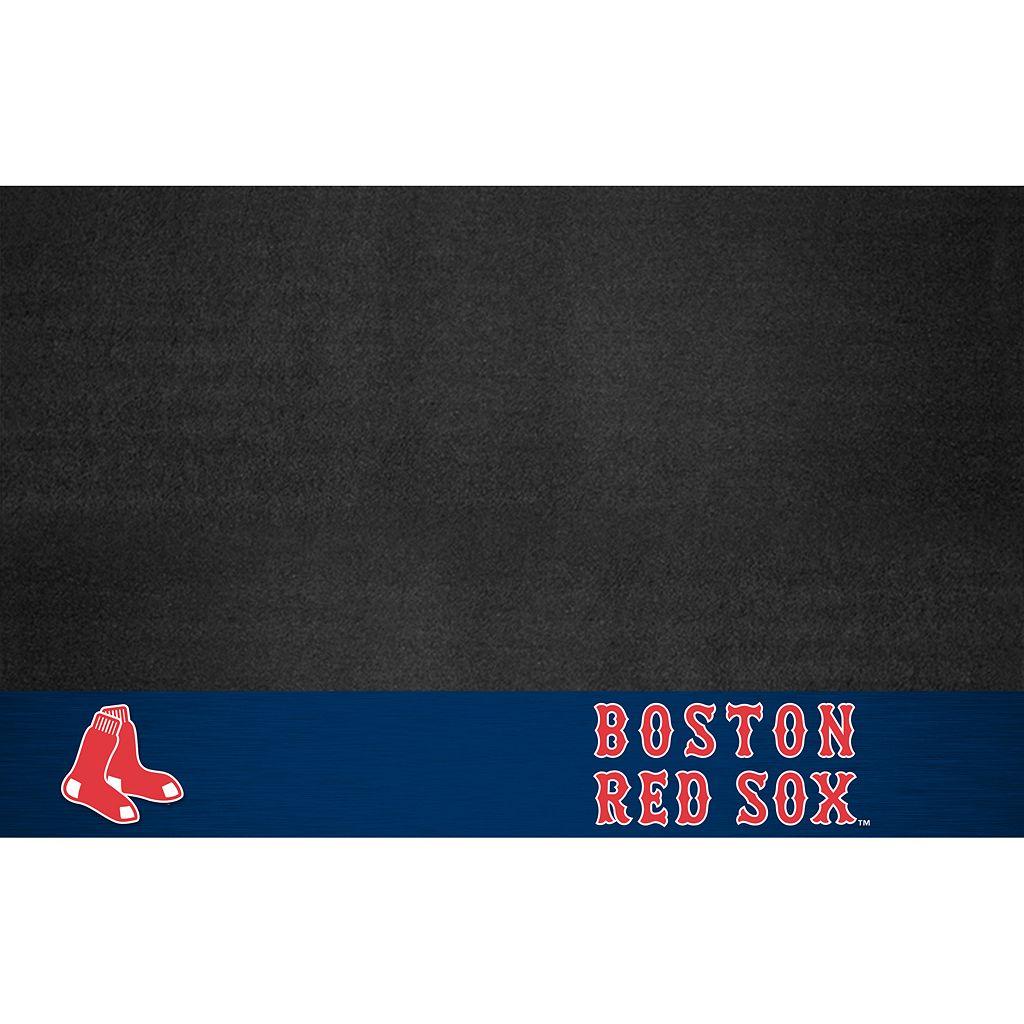 FANMATS Boston Red Sox Grill Mat