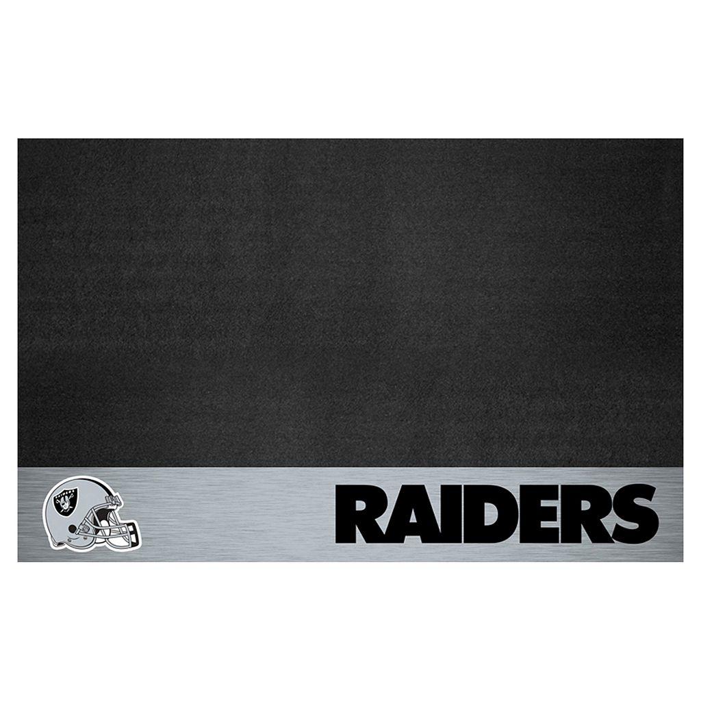 FANMATS Oakland Raiders Grill Mat