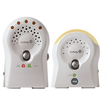Safety 1st Sure Glow Audio Baby Monitor with Receiver