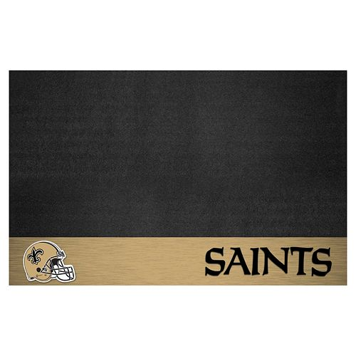 FANMATS New Orleans Saints Grill Mat