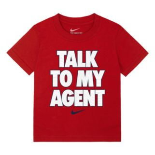 "Boys 4-7 Nike ""Talk To My Agent"" Tee"