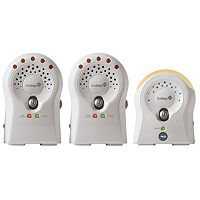 Safety 1st Sure Glow Audio Baby Monitor with 2 Receivers