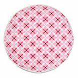 Greendale Home Fashions Quatrefoil Round Throw Pillow