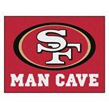 FANMATS San Francisco 49ers Man Cave Rug