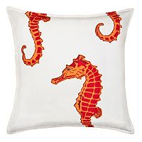 Greendale Home Fashions Seahorse Throw Pillow
