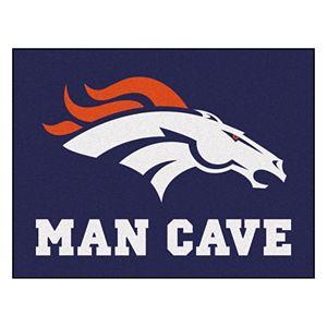 FANMATS Denver Broncos Man Cave Rug