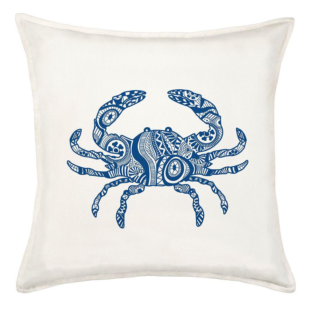 Greendale Home Fashions Crab Throw Pillow