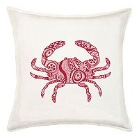 Greendale Home Fashions Crab Throw Pillow
