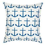 Greendale Home Fashions Anchor Repeat Throw Pillow