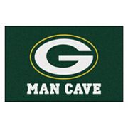 FANMATS Green Bay Packers Man Cave Rug