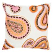 Greendale Home Fashions Paisley Throw Pillow
