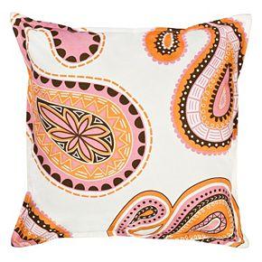 Greendale Home Fashions Paisley Throw Pillow