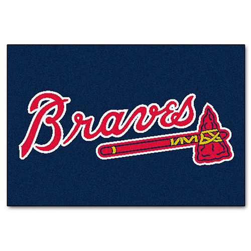 FANMATS Atlanta Braves Starter Rug