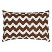 Greendale Home Fashions Chevron Oblong Throw Pillow