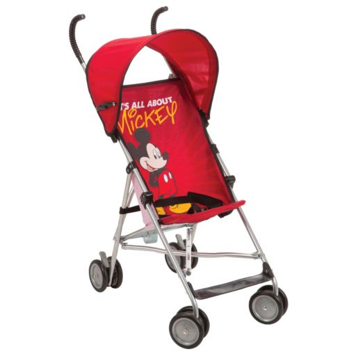 """Disney's Mickey Mouse """"It's All About Mickey"""" Umbrella Stroller with Canopy"""