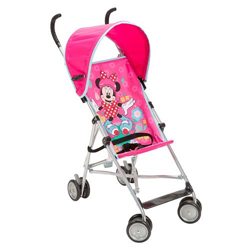 Disney's Minnie Mouse Roller Skates Umbrella Stroller with Canopy
