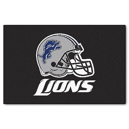 FANMATS Detroit Lions Starter Rug