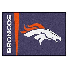 FANMATS Denver Broncos Starter Rug