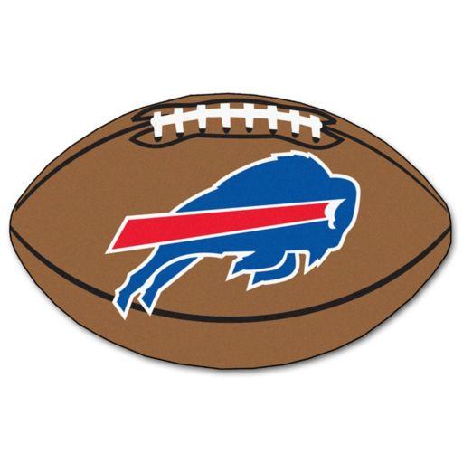 FANMATS Buffalo Bills Football Rug
