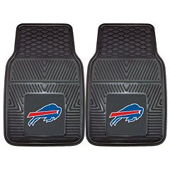 FANMATS Buffalo Bills 2-Pack Heavy Duty Car Mats