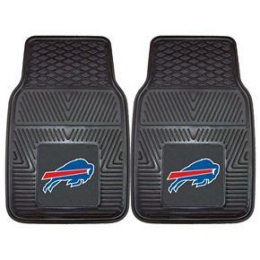 FANMATS Buffalo Bills 2-Pack Heavy Duty Car Mats