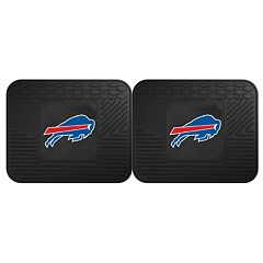 FANMATS Buffalo Bills 2-Pack Utility Backseat Car Mats