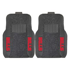 FANMATS Buffalo Bills 2-Pack Deluxe Car Mats
