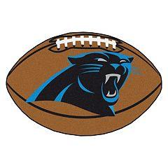FANMATS Carolina Panthers Football Rug