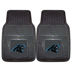 FANMATS Carolina Panthers 2-Pack Heavy Duty Car Mats