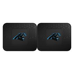 FANMATS Carolina Panthers 2-Pack Utility Backseat Car Mats